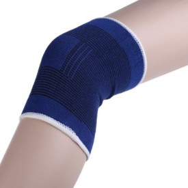 Hariom Enterprises A-54GT Knee Support (Free Size, Blue)