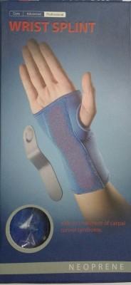 LP Support 725 Wrist Splint Right Hand Palm Support (M, Blue)