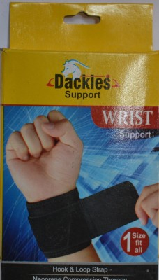 MES Dackles Wrist Support (Free Size, Black)