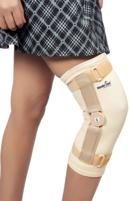 Wonder Care Patella cap Sleeve with Hinge-Xtra Large Knee Support (XL, Beige)