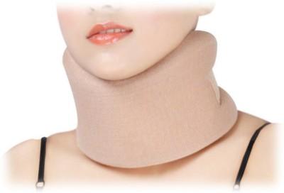 D4 Rehabilitation Cervical Collar Full Foam Neck Support (S, Blue, Brown)