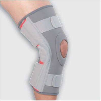 Turion Functional Stabilizer Deluxe Knee Support (L, Grey)