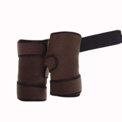 Vedic Deals Tourmaline Self Heating Knee Support (Free Size, Brown)