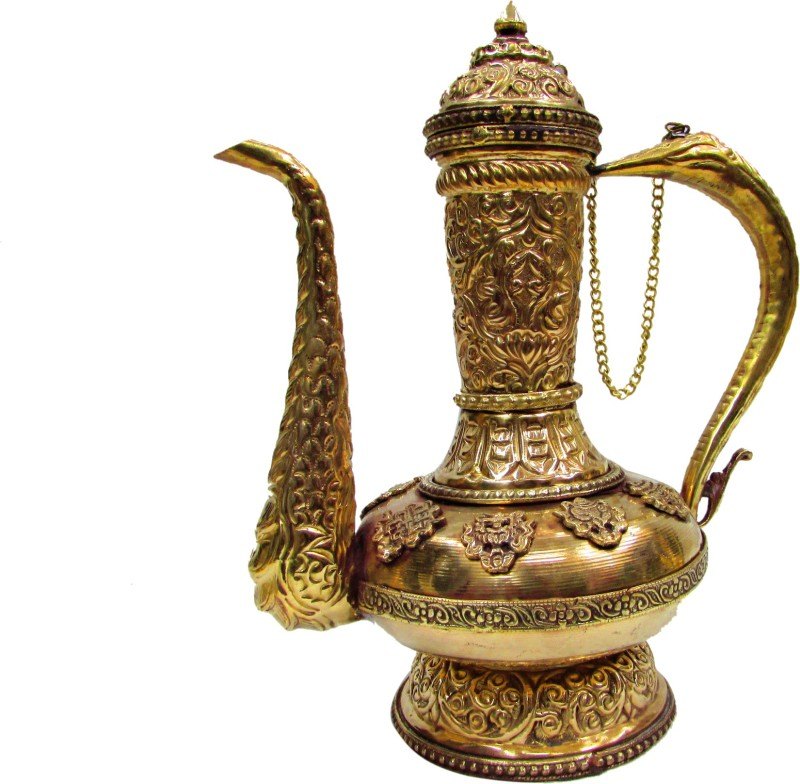 Gathbandhan Gold Brass Surahi(1 L)