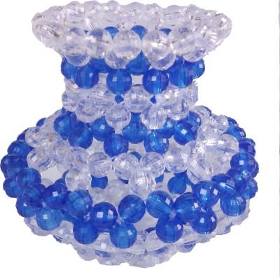 Laxmi Fashion White, Blue Plastic Surahi(0.15 L)
