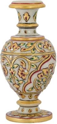 Gaura Art & Crafts GACMFS Multicolor Stoneware Surahi(1 L)