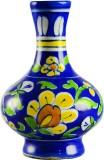 Kraftmart Blue Craft Blue Pottery Surahi...
