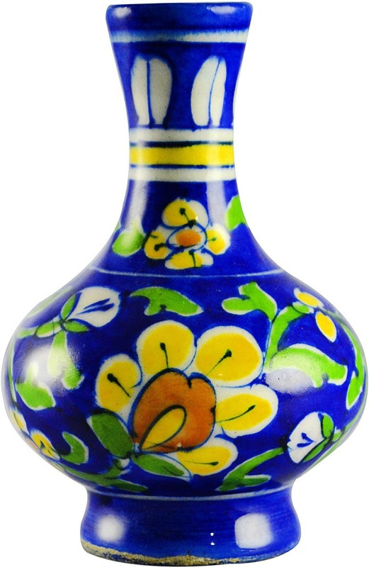 Kraftmart Blue Craft Blue Pottery Surahi(1 L)