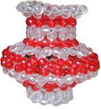 Laxmi Fashion White, Red Pearl Surahi (0...