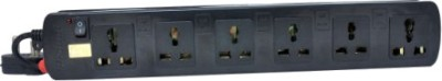 ProDot Multi Button 6 Socket Spike Surge Protector (2.5 Mtr)