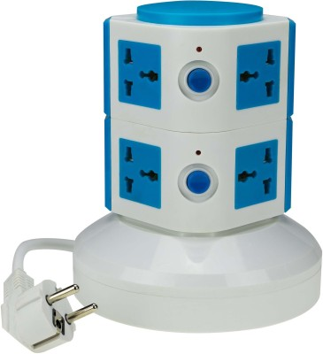 ANNI CREATIONS Essential 8 Single Adapter Surge Protector