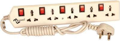 Multybyte Power Extension 5 Strip Surge Protector