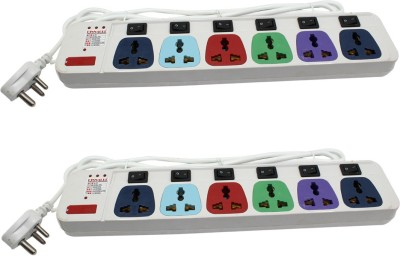 Pinnacle 3 Meter 6 Strip Surge Protector