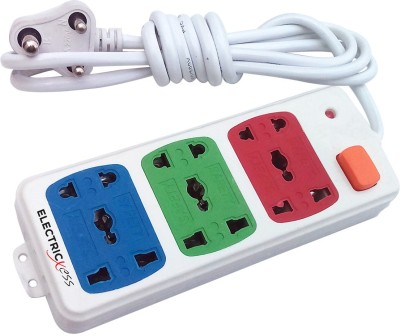 Electricless Power Extension Board 3 Wall Mount Surge Protector