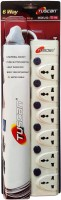 Tuscan Extension Board - 3 Meter Cable 6 Socket Surge Protector(White)