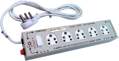Electricless Power Extension 5 Wall Mount Surge Protector