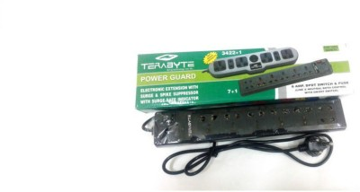 Terabyte Electronic Extension 7 Strip Surge Protector