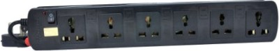 Prodot 6 Sockets Single Button-1.5 m 6 Strip Surge Protector
