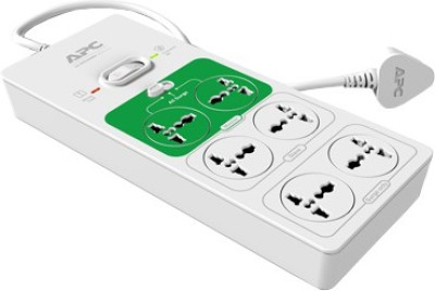 APC P6FG-IN 6 Strip Spike Surge Protector (1.5 Mtr)