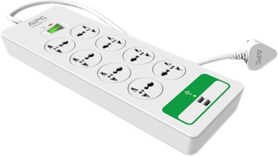 APC P8U2-IN 8 Strip Spike Surge Protector (1.5 Mtr)