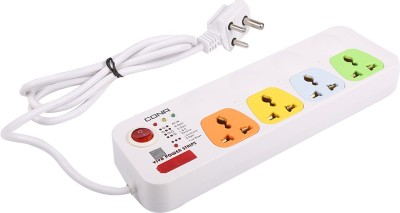 Cona Smyle VIVA 4+1 Power Strip / Spike Guard 4 Sockets + 1 Switch with 1.75 Mtrs Wire 4 Strip Surge Protector