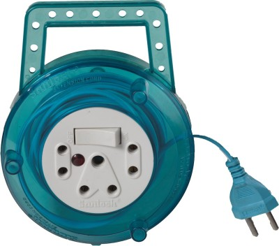 Santosh Transperent Sky 3 Strip Surge Protector