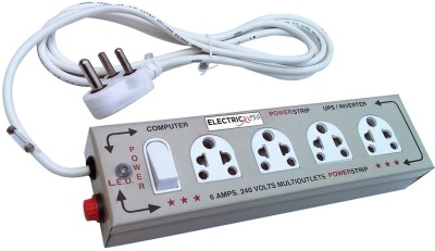 Electricless Power Extension 4 Wall Mount Surge Protector