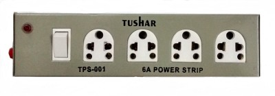 Tushar Metal Body 4 Strip Surge Protector