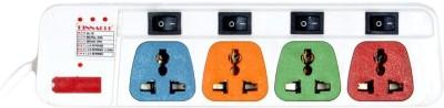 Pinnacle PA143 4 Socket Surge Protector(Multicolor)