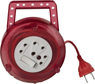 Santosh TRNT Red 3 Strip Surge Protector