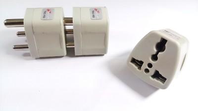 Tuscan Conversion Plug 1 Single Adapter Surge Protector(Grey)