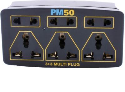 PM50 Multi Plug 6 Single Adapter Surge Protector