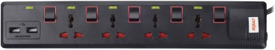 Artis-AR-SP400MS-USB-4-Socket-Spike-Surge-Protector-(1.5-Mtr)