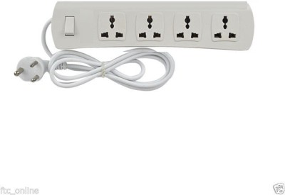 Ruby 4 sockets 1 switch 4 Strip Surge Protector