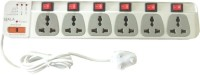 Ujala 6 X 6 6 Socket Surge Protector(White)