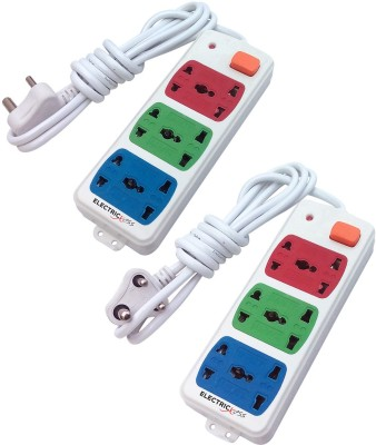 Electricless Power Extension 6 Wall Mount Surge Protector