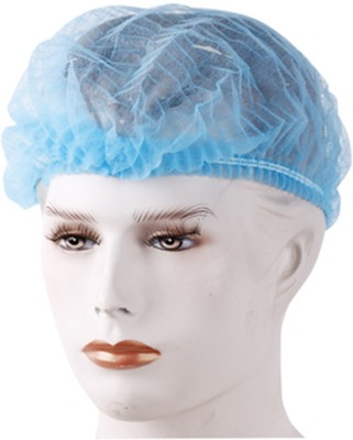 Lintex Bouffant cap white/Blue/Green Surgical Head Cap(Disposable)
