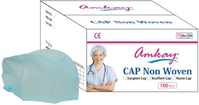 Amkay AM0012 Surgical Head Cap(Disposable)