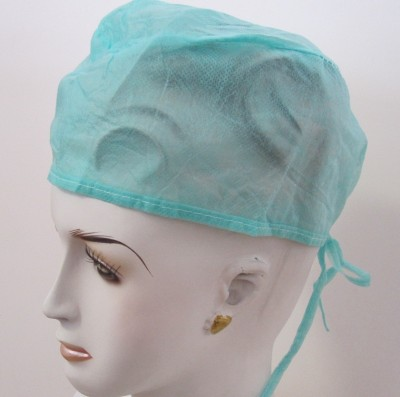 Salus SURGEON CAP WHITE Surgical Head Cap(Disposable)