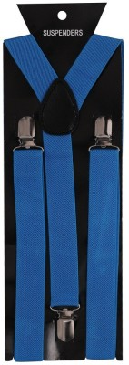 Tiekart Y- Back Suspenders for Men(Blue)