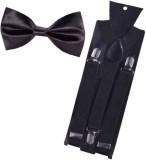 Stylenara Y- Back Suspenders for Men (Bl...