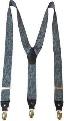 Navaksha Y- Back Suspenders for Men(Black)