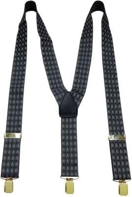 Navaksha Y- Back Suspenders for Men(Grey)