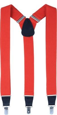 Alvaro Y- Back Suspenders for Men(Red)