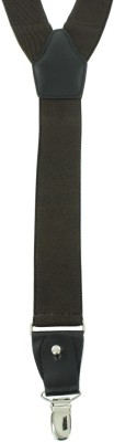 Orosilber Y- Back Suspenders for Boys, Girls, Men, Women(Brown)