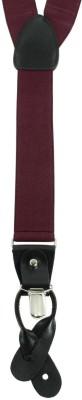 Orosilber Y- Back Suspenders for Boys, Girls, Men, Women(Red)