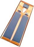 WSD Y- Back Suspenders for Men (Grey)
