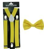 Celebrity Y- Back Suspenders for Men (Ye...