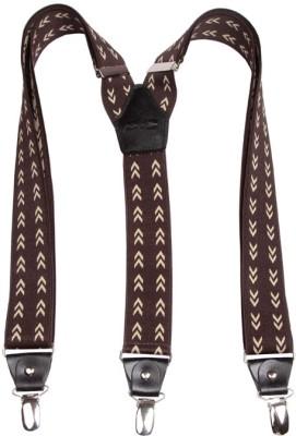 Orosilber Y- Back Suspenders for Men(Brown)