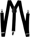 Modishera Y- Back Suspenders for Men (Bl...